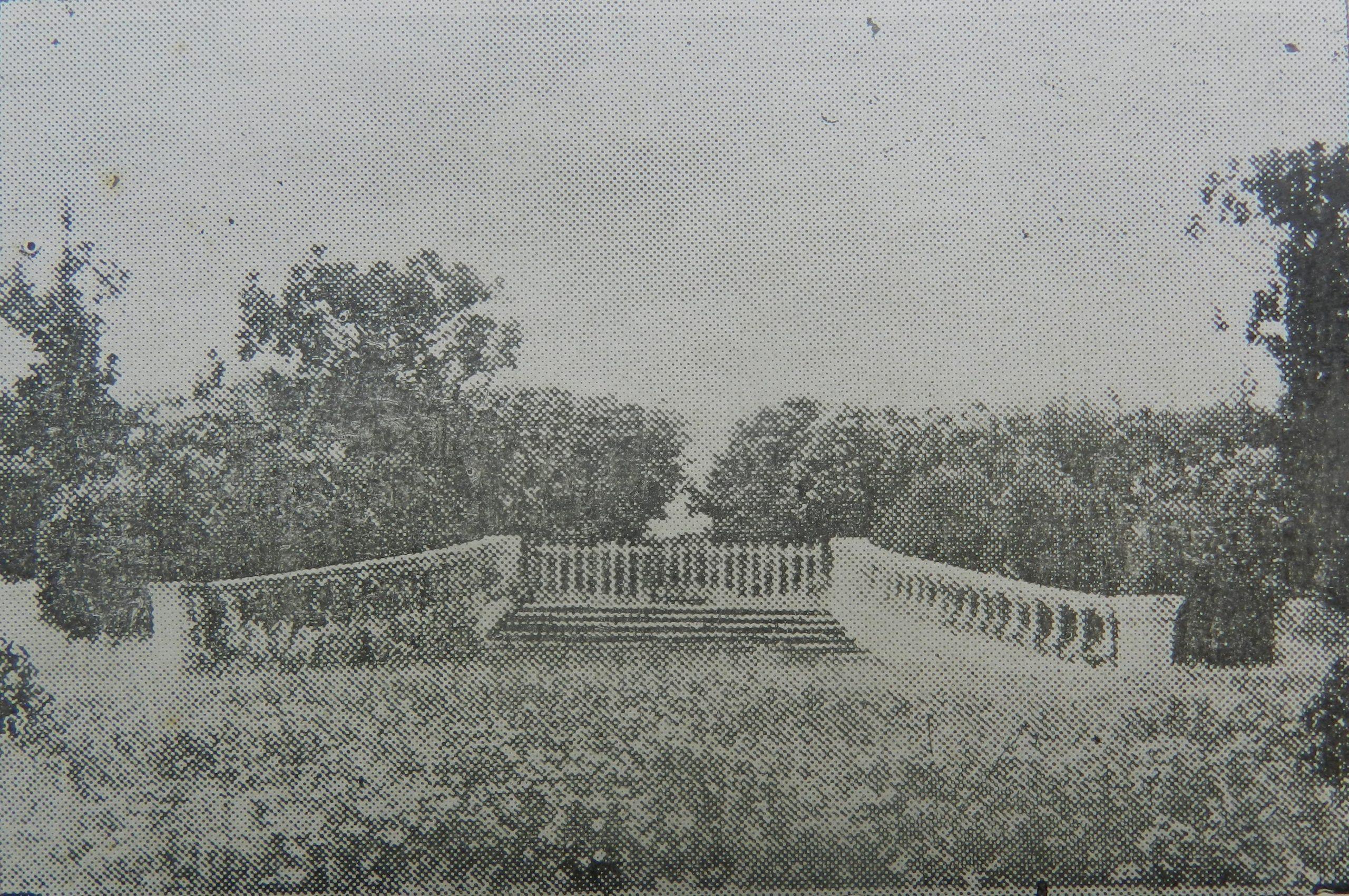 Jardín Romano, ca. 1920. Revista Municipal