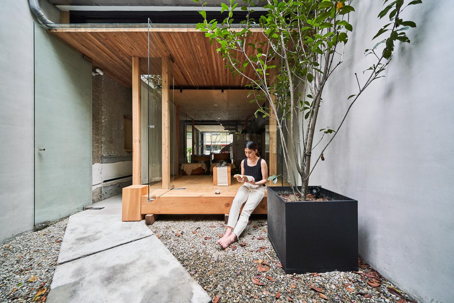 Espacios minimalistas en donde menos en más. Soar, Tea House. Foto: Gentileza.