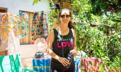 Mariana Dos Santos coordina acciones de Project Bike Love, en Paraguay. Foto: Gentileza.