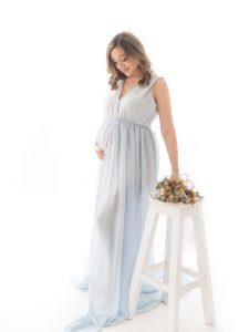 Marta Méndez, belleza y embarazo. Foto: Gentileza.
