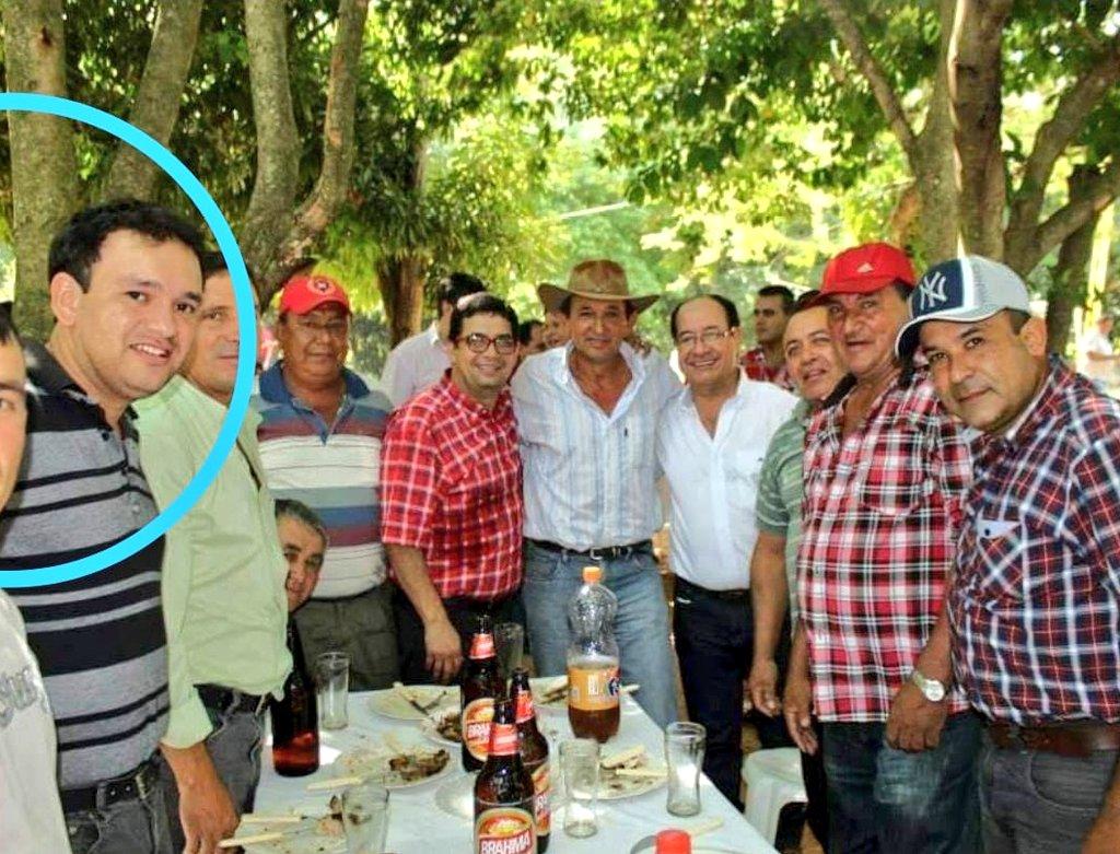 Oscar Ignacio Olmedo, administrador de la Novena Region Sanitaria de Paraguari y parte de anillo político del diputado Miguel Cuevas. Foto: Gentileza.