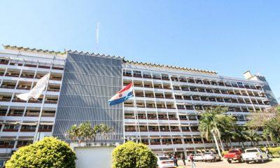 Fachada del Hospital Central de IPS. (FOTO GENTILEZA).