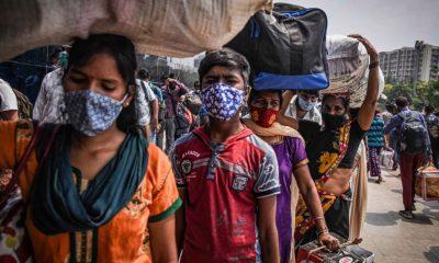 La crisis en India a causa de la pandemia se agravó. Foto: Getty.