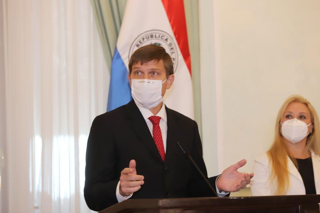 Juan Manuel Brunetti, ministro de Educación. (Foto: Agencia IP.)