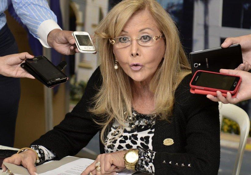 Senadora Mirta Gusinky. Foto: Internet.