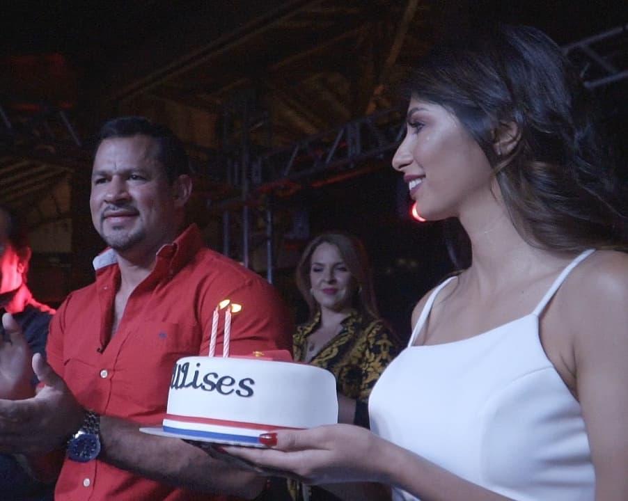 El diputado Ulises Quintana y Mirtha Fariña. Foto: Gentileza.