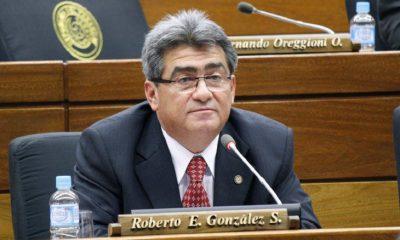 El diputado Roberto González.