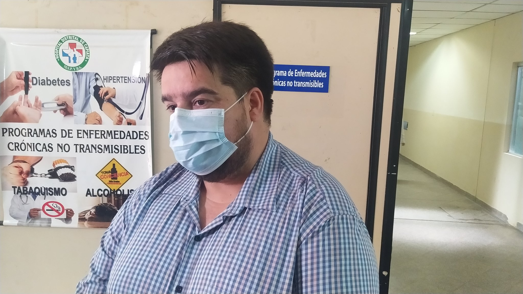 Dr. Roque Silva. Foto: Gentileza.