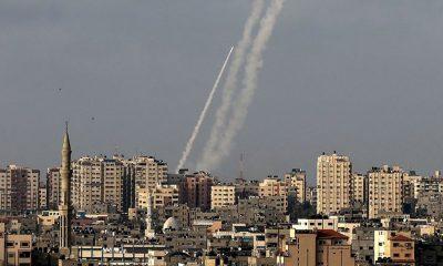 Lanzan cohetes en territorios palestinos. Foto: diariohoy.net