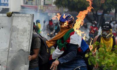 Las violentas protestas en Colombia no ceden. Foto: Getty Images