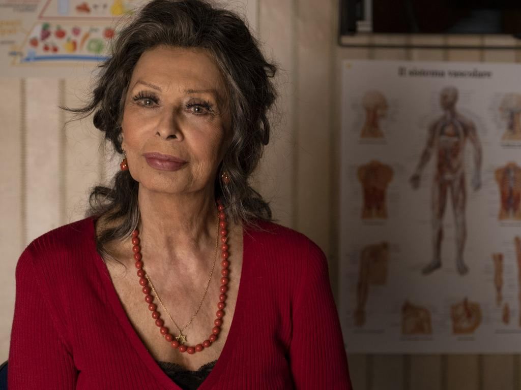 """Sophia Loren en """"La vita davanti a sé"""""""