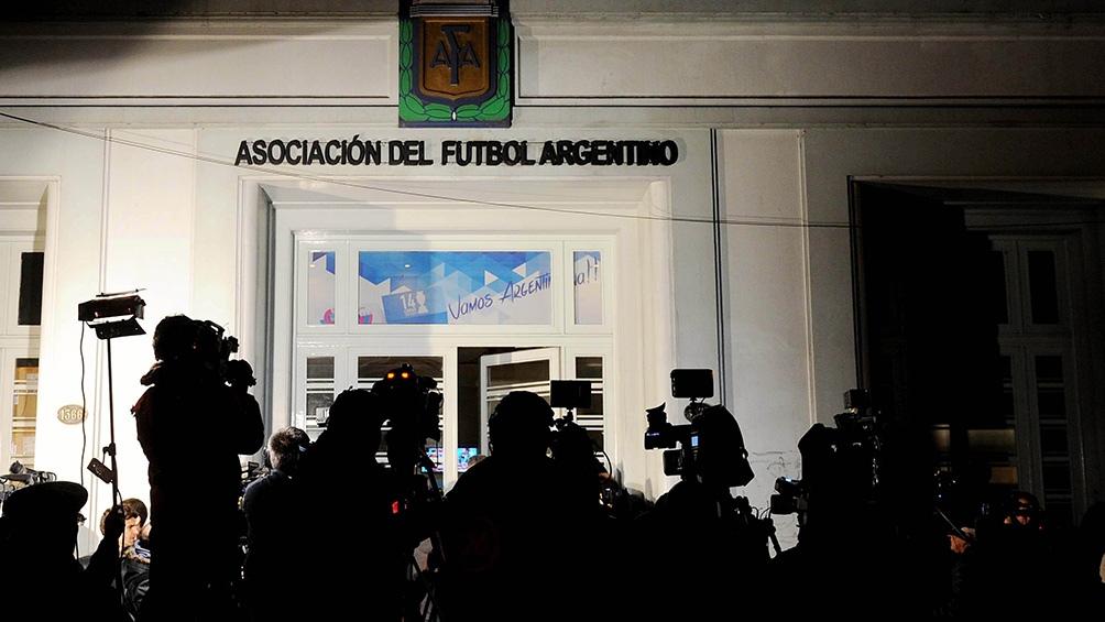 El fiscal pidió información relacionada a contratos que la AFA. Foto: Telam.