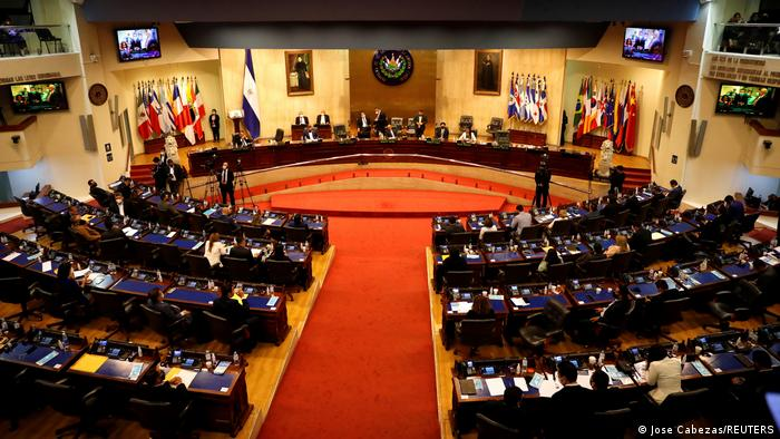La Asamblea Legislativa de El Salvador. Foto: dw.