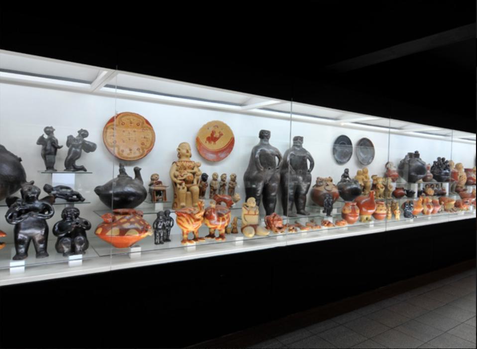 Sala de cerámica popular, CAV/Museo del Barro. Cortesía