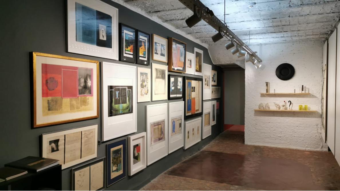 Gabinete Bernardo Krasniansky, exposición permanente, Fundación Texo. Cortesía