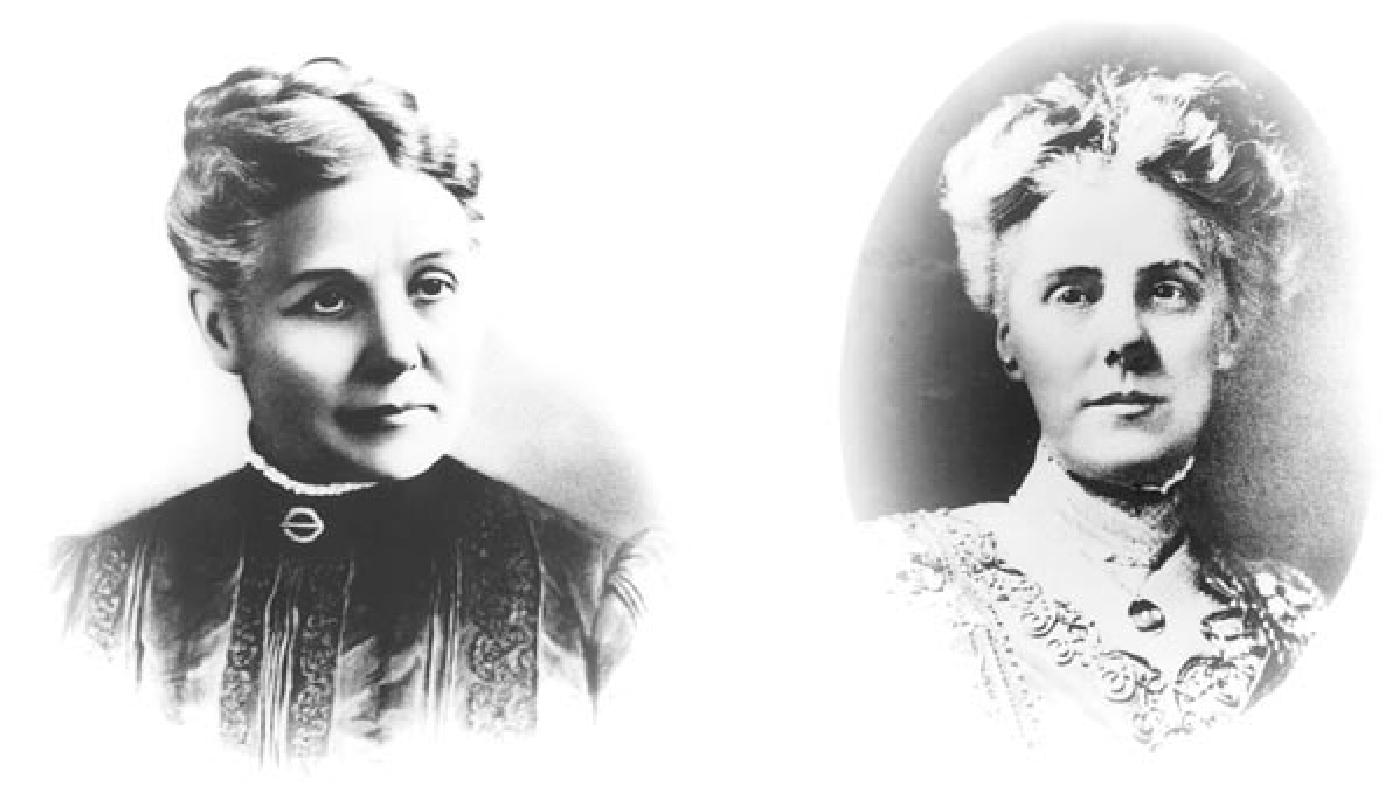 """Anna Marie Reeves Jarvis y su hija Anna Marie Jarvis, en el origen del """"Día de la madre"""""""