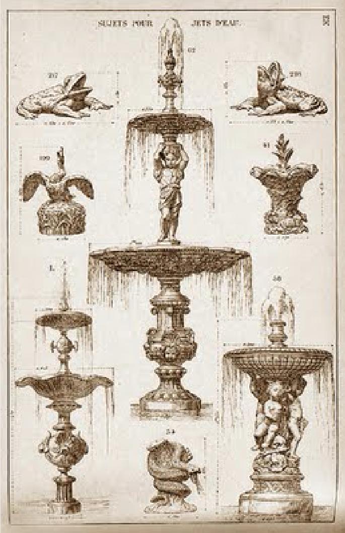 Catálogo Val D'Osne, ca. 1910. Cortesía