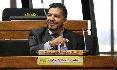 Diputados Carlos Portillo. Foto: Archivo.