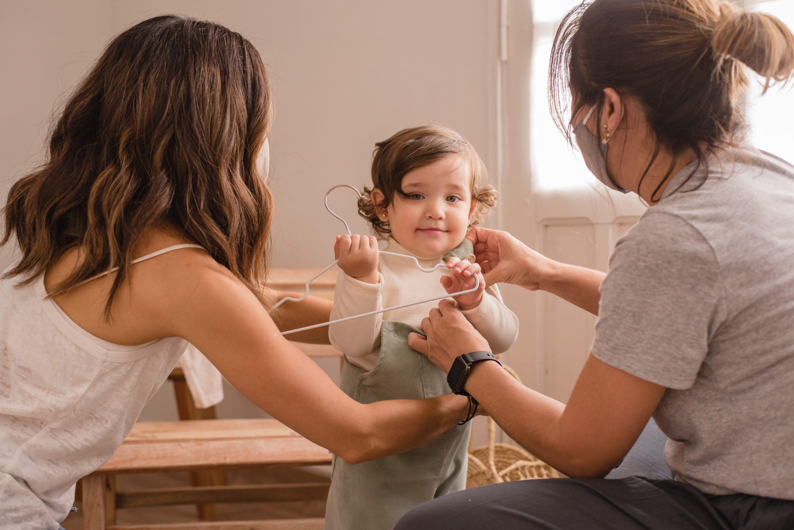 Newborn Label busca eso que puede pasar de un hermano a una hermana y heredarse al primito sin perder vigencia. Foto: Gentileza Newborn