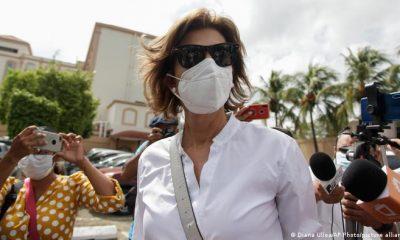Cristiana Chamorro, la más visible de los candidatos opositores. Foto: DW.
