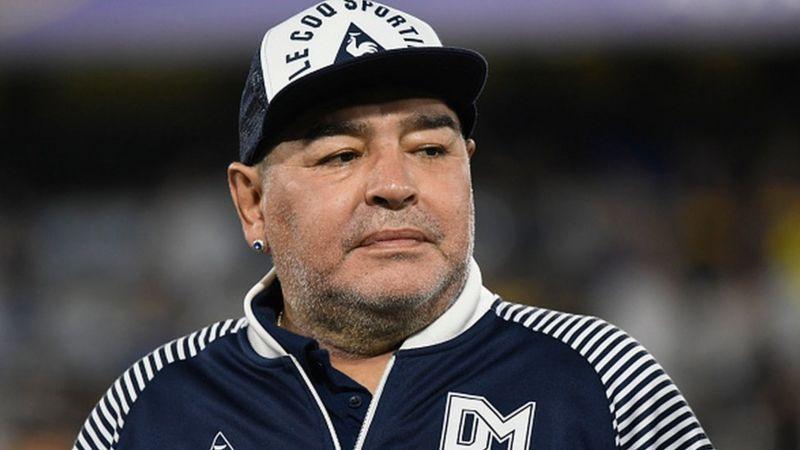 Diego Maradona era el capitán de Argentina cuando la selección de este país ganó el Mundial de Fútbol de 1986 (BBC, Getty Images).