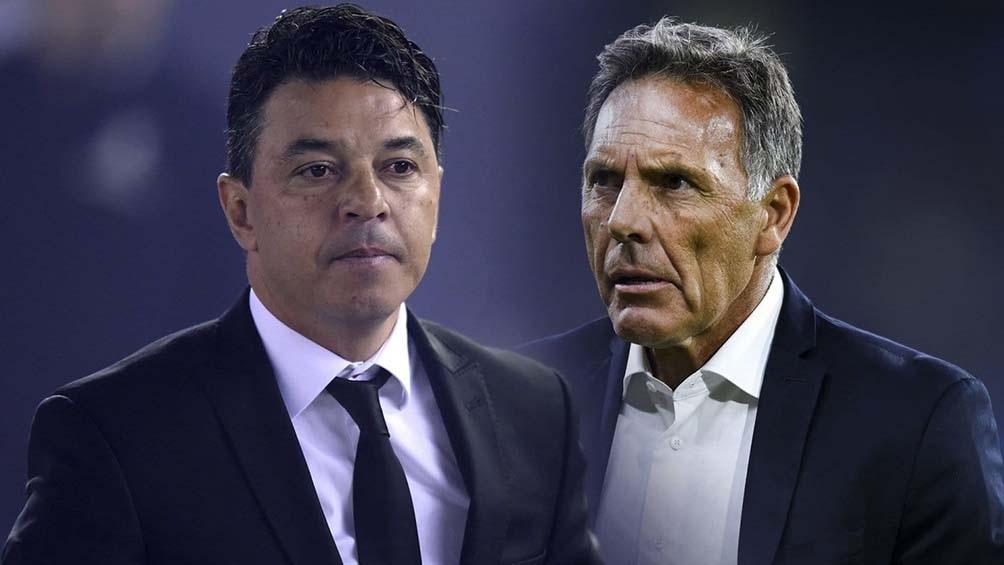 La última vez que se cruzaron fue en 2019, en las semifinales de la Libertadores. Foto: Telam.