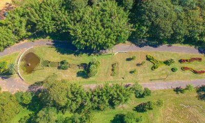 El Jardín de la Señora, vista aérea, 2021 © Gabriel Presentado