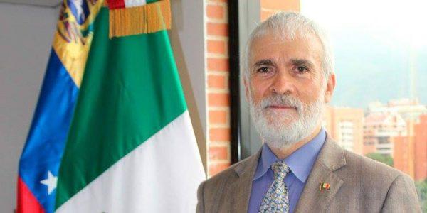 El embajador de México en Paraguay, Juan Manuel Nungaray. Foto: Gentileza