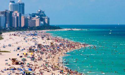 """El centro de vacunación """"pop -up"""" se instalará en calle 16 y la playa, en Miami Beach. Foto: Infobae."""
