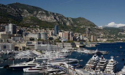 Mónaco es un punto habitual de concentración de súperyates. Foto: BBC.