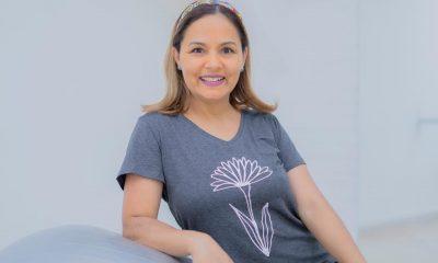 Fulvia Bernal, osteopata y especialista en esferokinesis. Foto: Fulvia Wellness Gentileza.