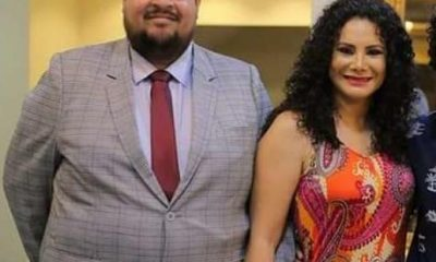 Roque Silva junto a su esposa Liz Pérez. Facebook.