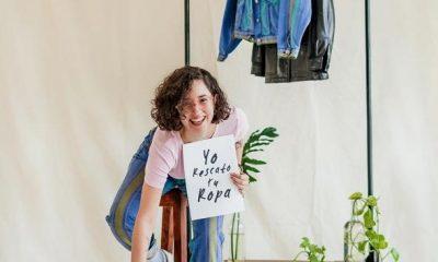 """""""Yo rescato tu ropa"""" fue el énfasis que se hizo en la edición 2021 para promover el uso de ropa de segunda mano. Foto: Fashion Revolution Paraguay. Gentileza."""