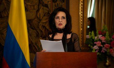 Claudia Blum, Canciller de Colombia. Foto: Embajada de Colombia en Paraguay.