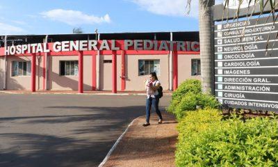 Hospital Pediátrico Acosta Ñu. Foto: Gentileza.