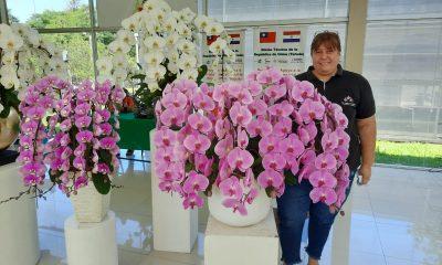 María Angélica Centurión, directora nacional de Floricultura del Ministerio de Agricultura y Ganadería (MAG). Gentileza.