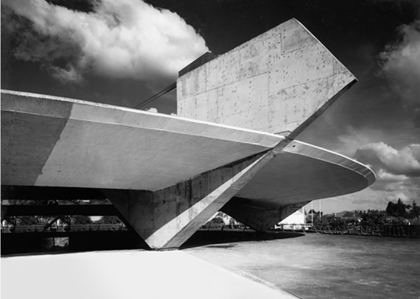 Gimnasio Club Paulistano, 1960. Fuente: exit-express