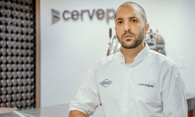 José Andrés Abraham, nuevo gerente general de Cervepar. Foto: Gentileza.