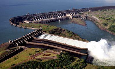 Hidroeléctrica de Itaipu. Foto: Archivo.