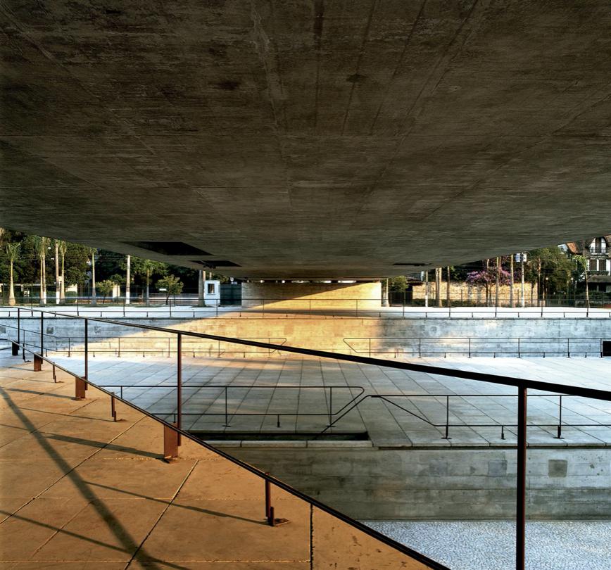 Museo Brasileño de Escultura, São Paulo, 1986-1995. Arquitectura Viva © Nelson Kon