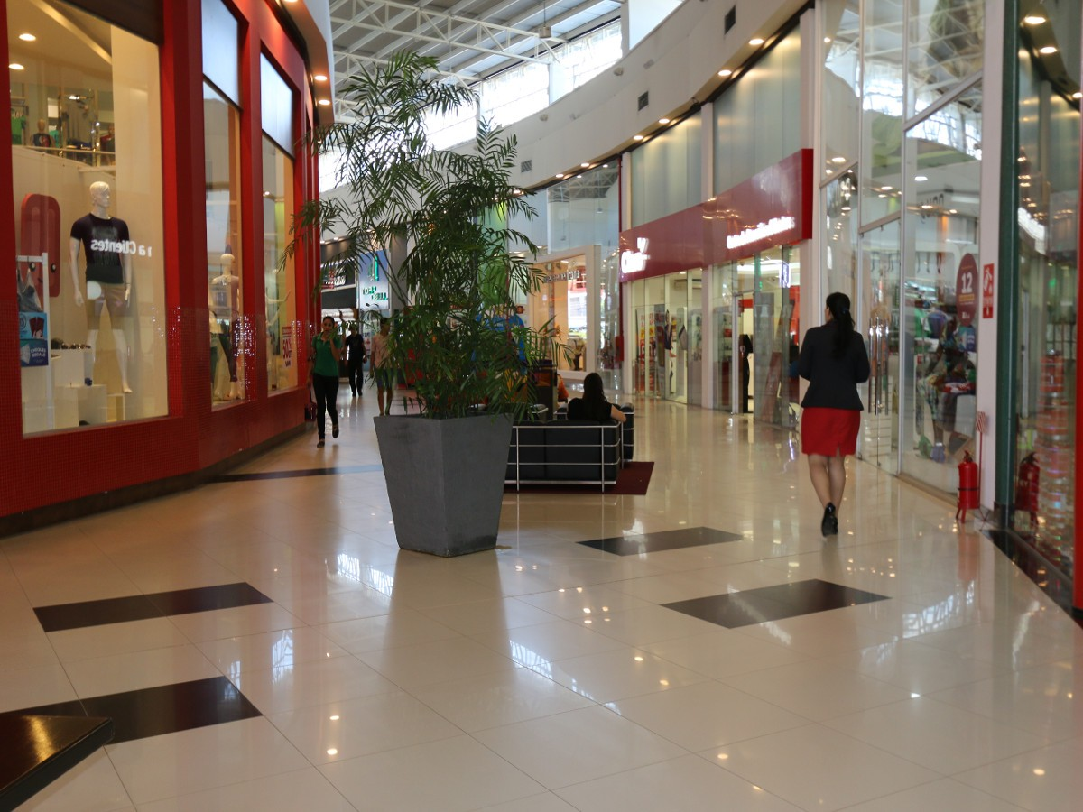 Esta disminución de las actividades comerciales comenzó en marzo de este año. Foto: Senatur.