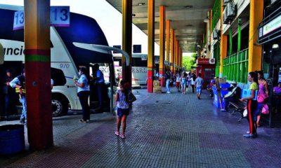 Anuncian estrictos controles en la Terminal de Ómnibus para evitar contagios de Covid-19- Foto: Internet.