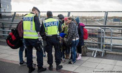 Control a migrantes en Dinamarca. Foto: DW.