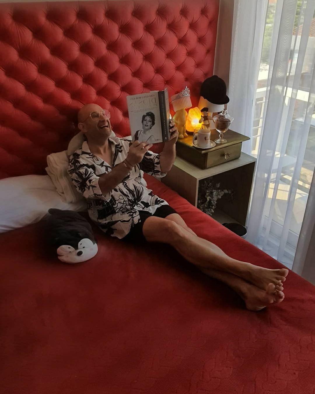 Jork Aveiro, moda y actuación siguen siendo pasiones en su vida. Foto: Gentileza.