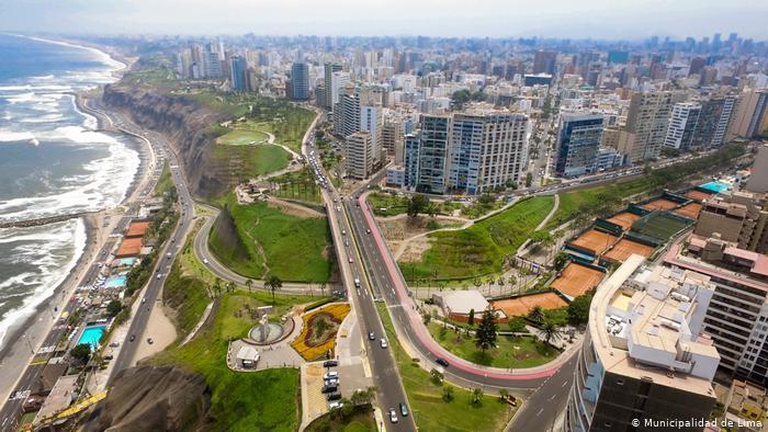 Vista áerea de Lima. Foto: DW.: