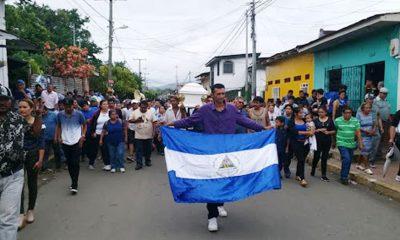 Protestas en Nicaragua. Foto: Télam.