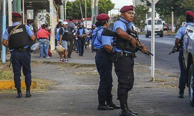 Las calles de Nicaragua están llegas de policías. Foto: Télam.