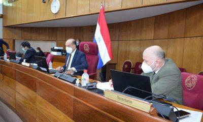Sesión ordinaria del senado. Foto: Gentileza.
