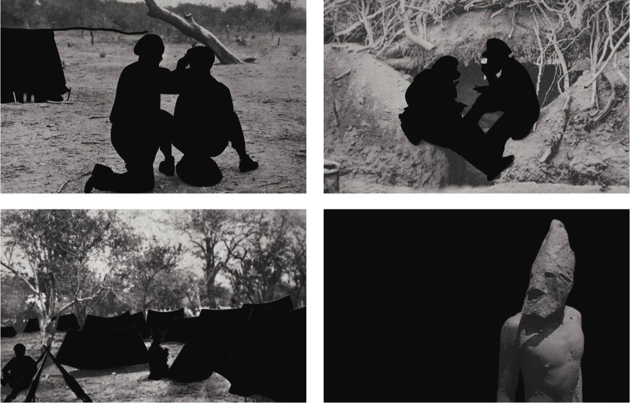 Chaco, mundo de mis mundos, 2010. Fotografías impresas en papel plata. Cortesía