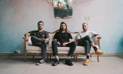 Los artífices de las nuevas propuestas de Santa Mónica.(De izquierda a derecha) Ivann Caballero, Johnny Drain, Chavi C. Foto: Gentileza.